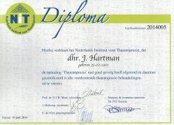 Diploma Hans